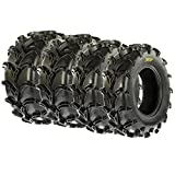 SunF ATV UTV Mud Tires 25x8-12 & 25x11-10 6 PR A050 (Full set of 4)