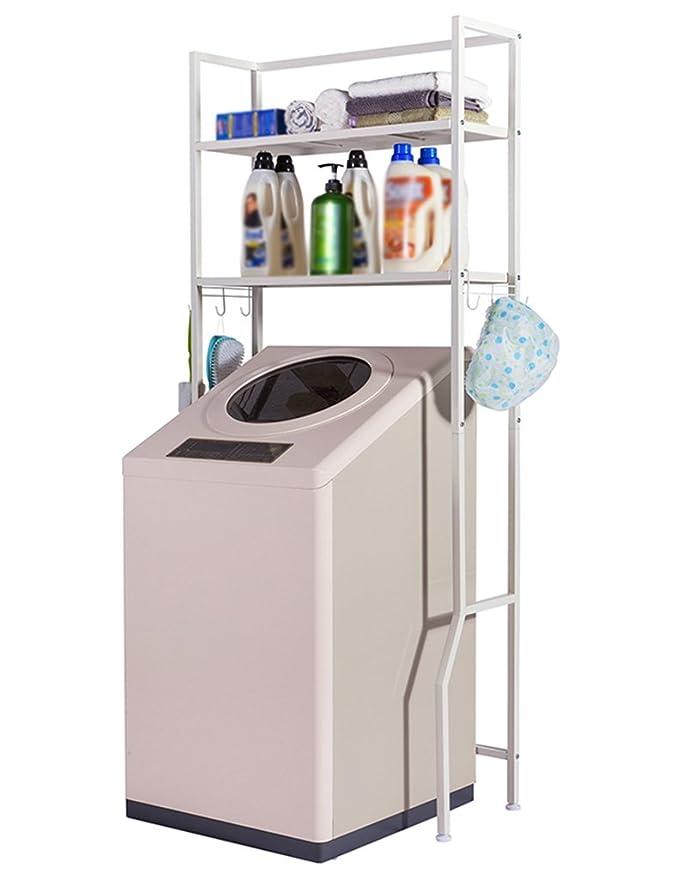 Estantes para lavadoras de baños, fáciles de acomodar, Rejillas ...