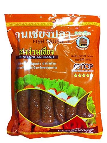 Fish Sausage 500 G, By Heng Nguan Hiang (Premium Product From Khonkaen, Thailand)