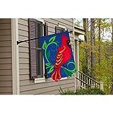 Cardinal Garden Flag Size: 18″ H x 12.5″ W Review