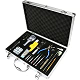 H&SÂ 155 Pcs Aluminum Carrying Case Watchmaker Watch Repair Tool Kit Back Case Opener Remover Spring Pin Bar by HS Alliance UK Ltd