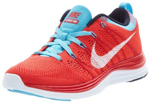 Nike Women Wmns Flyknit One, Università Rosso / Bianco-luminoso Cremisi-chl, 6,5 M Us