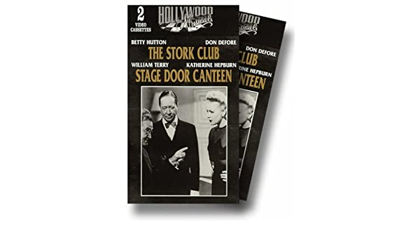 The Stork Club [USA] [VHS]: Amazon.es: Betty Hutton, Barry Fitzgerald, Don DeFore, Andy Russell, Robert Benchley, Bill Goodwin, Iris Adrian, Mary Young, ...