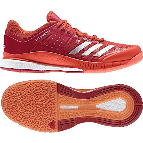 Chaussures adidas Crazyflight X Rouge
