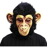 CreepyParty Novelty Halloween Costume Party Animal Head Mask Chimp