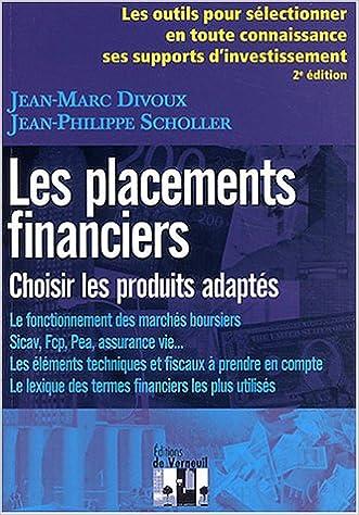 Livre gratuits Les placements financiers pdf, epub