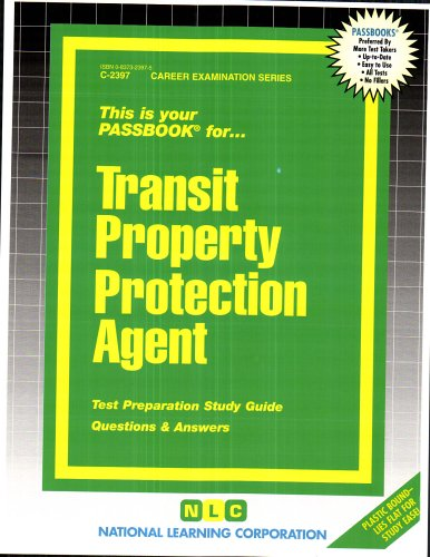 Transit Property Protection Agent(Passbooks)