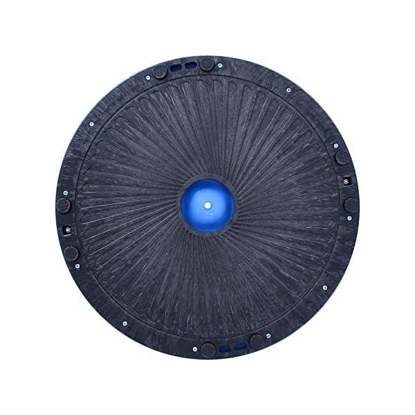 BuoQua Mezza Sfera Cupola Palla 60cm Balance Trainer Equilibrio Azzurro Palla Balance Trainer con Cinghie Laterali E… 7 spesavip