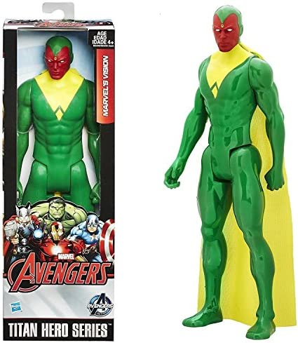 Marvel Mattel B3440AS0 Comics Titan Hero Series Toy – Vision 30,5 cm Action Figure