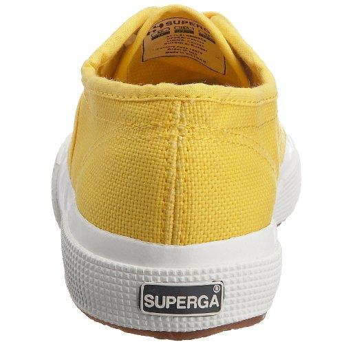 18 2750 Superga Bambini Classic 176 Tournesol Giallo Unisex Sneaker Jcot Bianco 407dwq