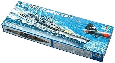 Trumpeter 1/700 HMS Repulse WWII British Battle Cruiser 1941 Model Kit