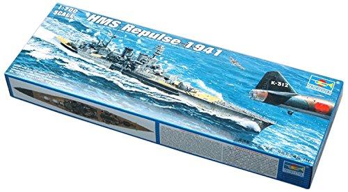 - Trumpeter 1/700 HMS Repulse WWII British Battle Cruiser 1941 Model Kit