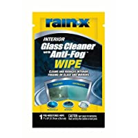 Rain-X Glass Cleaner with Anti-Fog Wipes (630040)