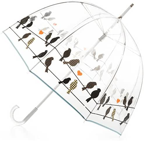 totes Signature Clear Bubble Umbrella