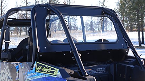 GLASS REAR WINDSHIELD FOR RZR XP 4 1000 & Turbo 4 Seat