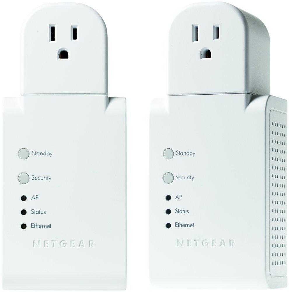 Netgear Hdxb111 Powerline Hd Plus Ethernet Adapter Kit Adapters An Alternative To Cable Wireless Electronics