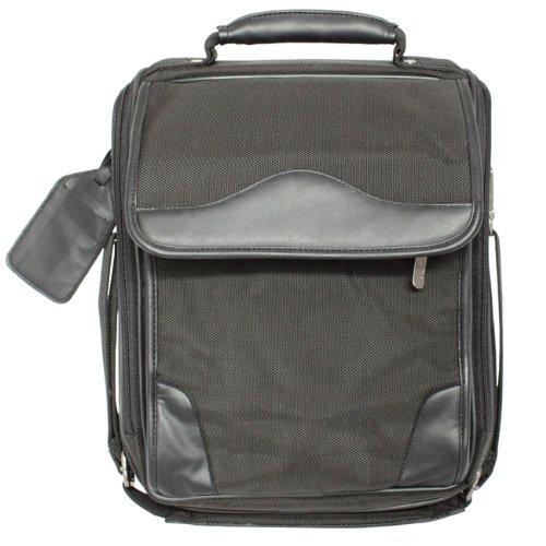 Avenues Compact Ballistic Nylon Laptop Notebook Computer Backpack - Black