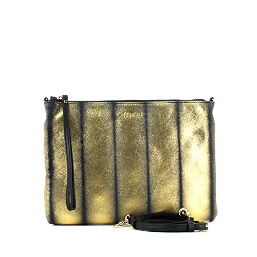 Leather Bag ORO/NERO