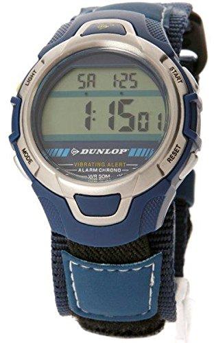 Dunlop Reloj Digital para Hombre de Automático con Correa en Caucho DUN-30-G03: Amazon.es: Relojes