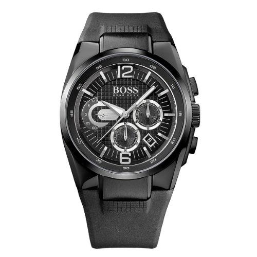Hugo Boss Men Watch Chronograph Black 1512736