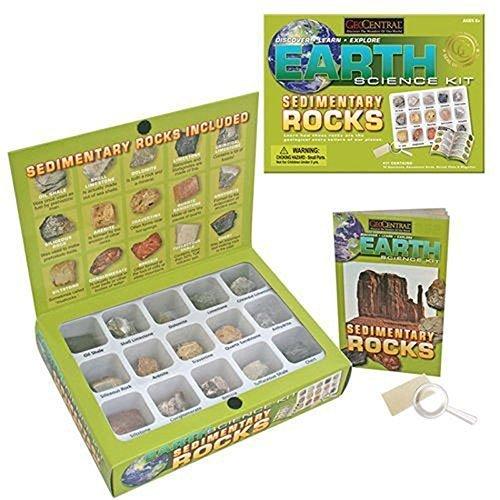 GeoCentral 18 Piece Sedimentary Rock Kit