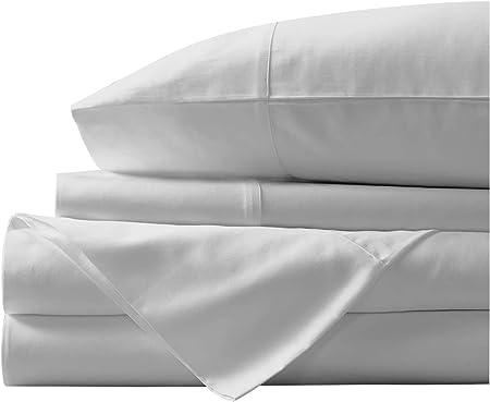 Juego de sábanas de algodón egipcio de 400 hilos, juego de sábanas ...