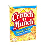 popcorn and peanuts - CRUNCH N MUNCH POPCORN With PEANUTS BUTTERY TOFFEE 6 oz