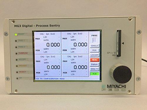 (MIYACHI PECO MG3 Digital Process Sentry MG3M-W1 Weld Monitor)
