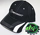 diesel motor - detroit trucker ball cap hat gear motor engine diesel semi baseball reflective