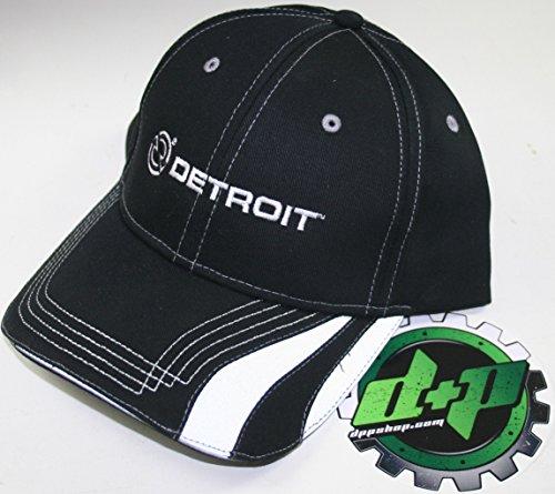 c9362939b69 Detroit Trucker Ball Cap hat Gear Motor Engine Diesel semi Baseball  Reflective