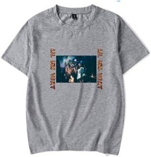 WEY T-Shirt, Lil Uzi Vert Stampa T-Shirt a Maniche Corte, T-Shirt Casual per Uomo e Donna