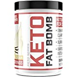 Premium MCT Oil Powder with L Theanine | Healthy Fats Formula Supports Rapid Weight Loss & All-Day Energy | Ketogenic & Paleo Diet Friendly - Keto Fat Bomb, 44oz from Sheer Strength Labs