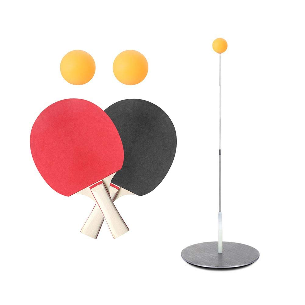 Table Tennis Trainer with Elastic Soft Shaft,Ping Pong Sports Toy Leisure Decompression Table Tennis Set for Indoor Outdoor Play by Shantan