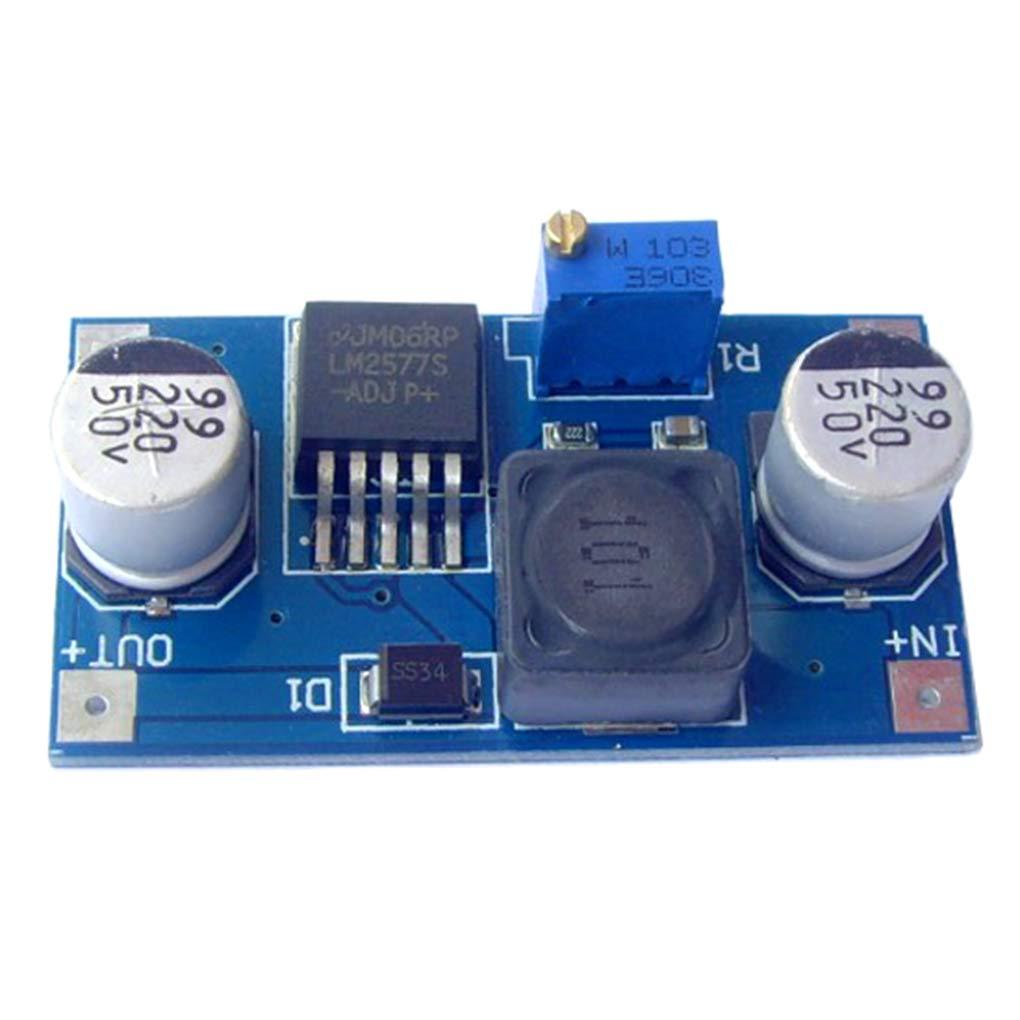 Lorsoul LM2577 DC à DC Boost régulateur de Tension Convertisseur de Puissance réglable électronique Volt Puissance Stabilizar Transformateur