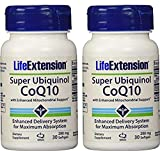 Life Extension Super Ubiquinol CoQ10 with Enhanced Mitochondrial Support, 200 mg, 30 softgels (2 Pack) Review