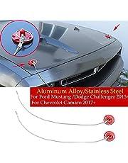 Engine Hood Racing Pin Locking for Ford Mustang/Dodge Challenger 15+ Camaro
