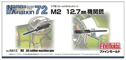 [해외]파인 몰드 172 나노アヴィエ?ションシリ?ズ M2 12.7 mm 기관총 프라모델 부품 NA13 / Fine Molds 172 Nano Aviation Series M2 12.7mm Machine Gun Plastic Model Parts NA13