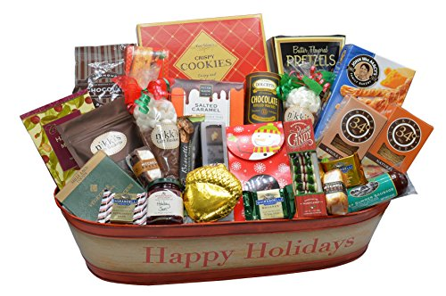 Foodie Paradise Happy Holiday Gift Basket