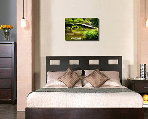 Japanese Garden Bridge Home Deoration Wall Decor ing