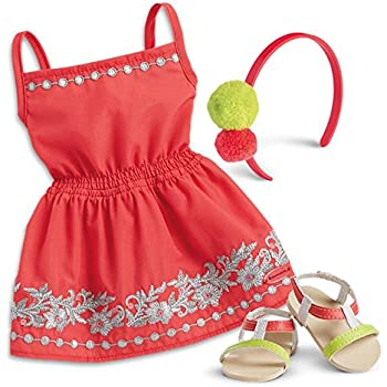 4266075e83c73 Amazon.com: American Girl - Sunny Day Dress for Dolls - Truly Me ...