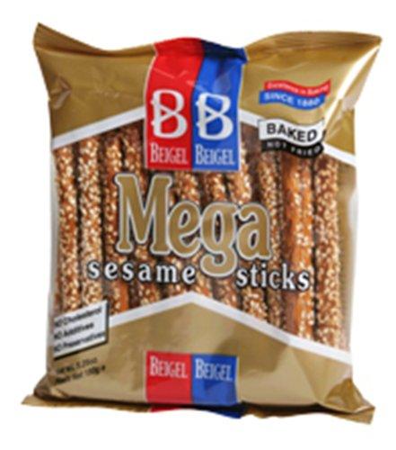 (Beigel Pretzels, Sesame Mega Sticks, 5.3-Ounce Packages (Pack of 20))
