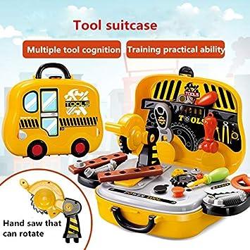 Amazon com: XuBa Simulation Engineer Role Play Builder Toy Tool