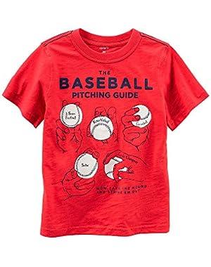 Carter's Baby Boys' Baseball Tee