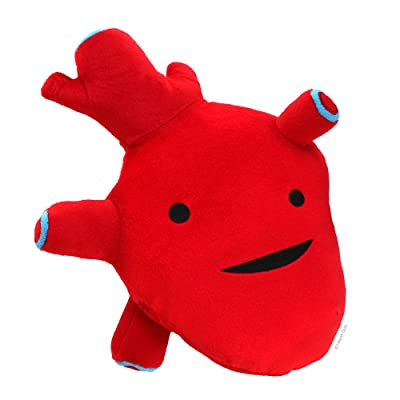 "I Heart Guts Heart Plush - I Got The Beat! - 10"" Cute Cardiology Toy: Toys & Games"
