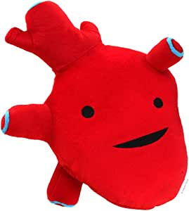 "I Heart Guts Heart Plush - I Got The Beat! - 10"" Cute Cardiology Toy"