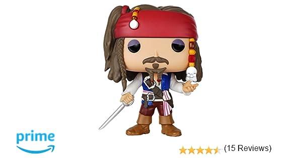 POP! Vinilo - Disney  Pirates  Jack Sparrow  Amazon.es  Juguetes y ... 741df3f7b4a