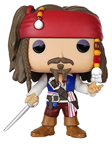 Funko Pop Disney: Pirates-Jack Sparrow Action Figure ()