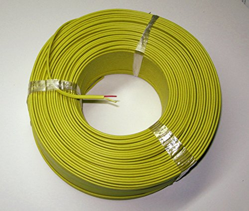 - K-type Thermocouple Wire AWG 24 solid w. PVC insulation - 10 yard