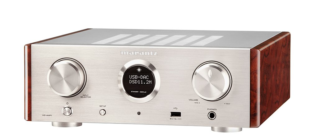 marantz USB-DAC / Amplifier DSD hi-res sound source corresponding HD-AMP1 / FN (Silver Gold) (Japan domestic product) by Marantz