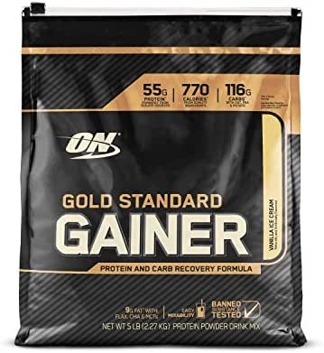 Protein & Meal Replacement: Optimum Nutrition Gold Standard Gainer